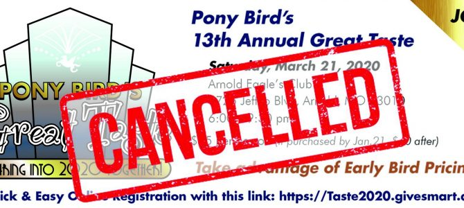 Event Canceled